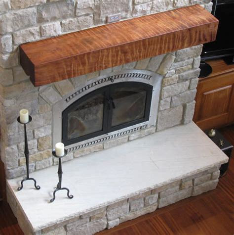 Fireplace Slabs by Redwood Fireplace Mantels Live Edge Wood