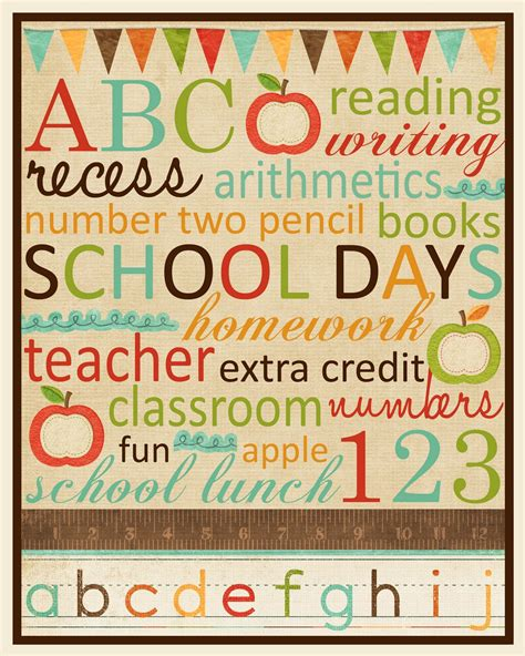 free printable subway wall art back to school projects my blog