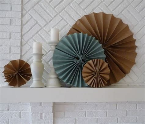 How To Make A Paper Fan Circle - paper fan fold circle does this a name