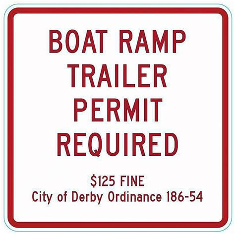 boat trailer permit city permit needed to park boat trailers near derby boat