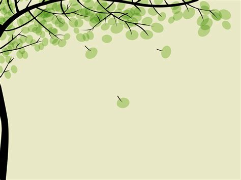 tree template for powerpoint drawing pithy trees left side background powerpoint