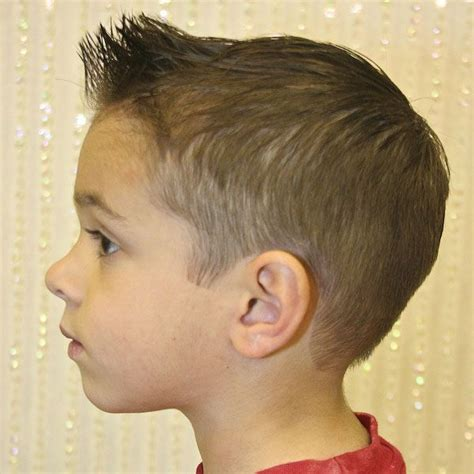 Boy Haircut With Spiked Bamgs | haircut for boys spiked in the front google search