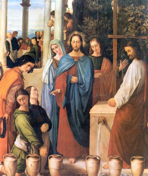 Wedding At Cana Meaning by The Of St Joseph The Wedding At Cana Jn 2 1 11