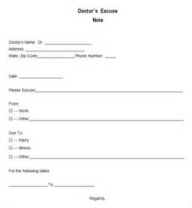 doctors excuse templates for work printable doctors excuses my