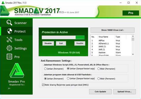 Anti Virus Terbaru antivirus smadav 2017 terbaru 11 5 sudah dirilis