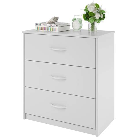 3 Drawer Dresser Chest Bedroom Furniture Black Brown White Dresser Drawers Bedroom Furniture