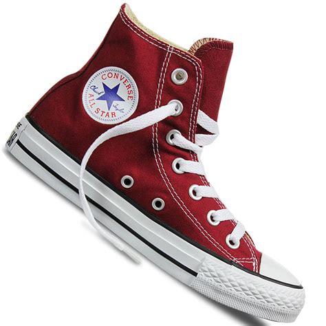 Converse High Chuck 2 Bnib Maroon converse chucks all hi sneaker maroon sport vision