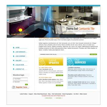 web page design contests 187 tierra sol ceramic tile web web page design contests 187 tierra sol ceramic tile web