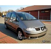 2009 Seat Alhambra 19 TDI 7 Seater  Car Photo And Specs