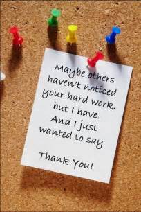 quotes to say thank you for your work quotesgram