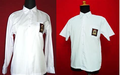 Baju Seragam Putih Sekolah baju kemeja panjang putih kederakyat