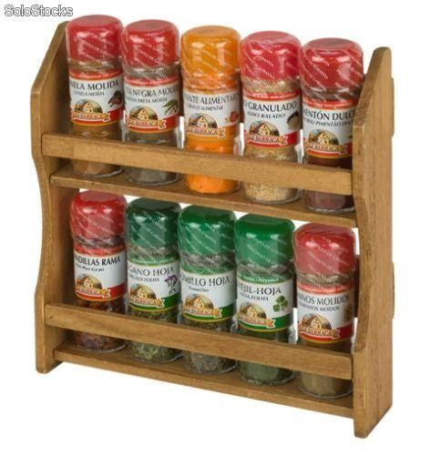especiero mueble cocina mueble especiero 10 tarros con las especies m 225 s utilizadas