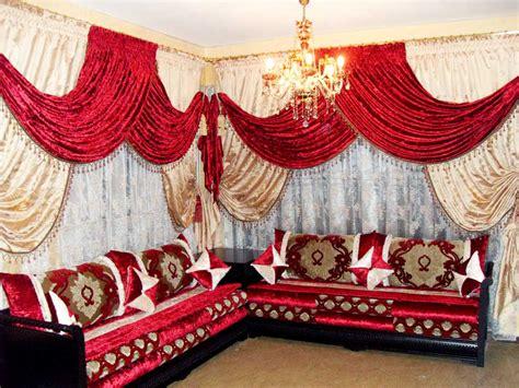 rideaux salons marocains voilage