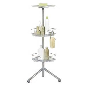 furniture appealing free standing shower shelves make you