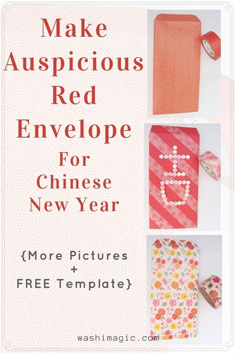 new year envelopes to make make auspicious envelope for new year even if