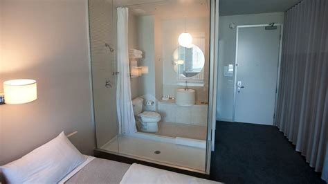 see through bathroom 10 sexiest see through hotel bathrooms abc news