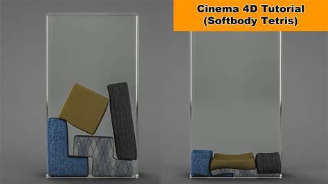 tutorial construct 2 tetris softbody tetris cinema 4d tutorial youtube