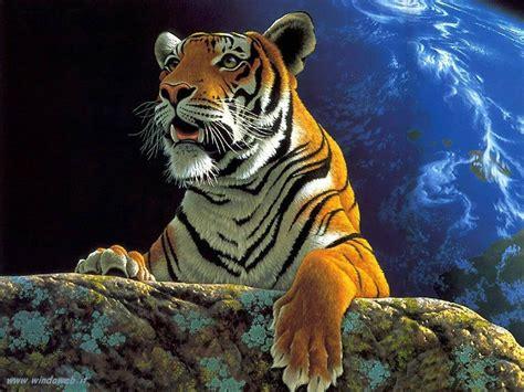 imagenes en 3d animales foto tigri leoni felini gratis per il desktop