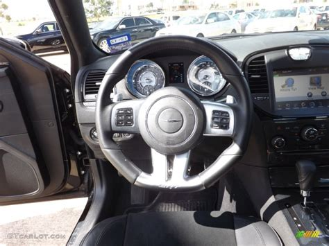 chrysler steering wheel 2012 chrysler 300 srt8 black steering wheel photo