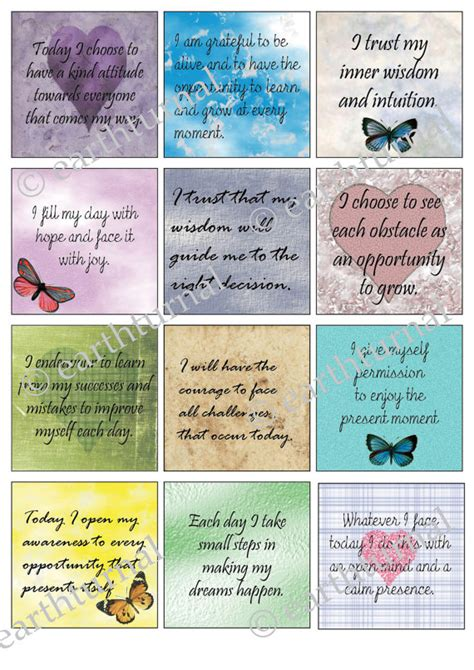 free printable inspirational postcards items similar to motivational quote cards inspirational