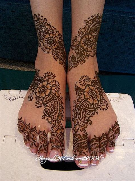 bridal mehndi designs 2014 for feet 0010 life n fashion