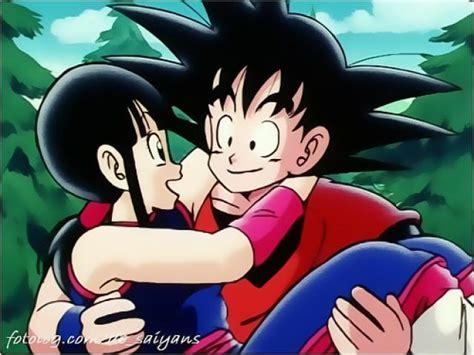 imagenes goku y milk besandose ranking de anime mejor pareja batalla 1 listas en