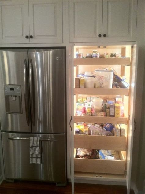 Refrigerated Pantry by Best 25 Pull Out Pantry Ideas On Pull Out