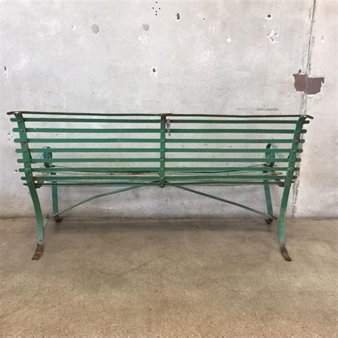 green metal garden bench green metal garden bench urbanamericana