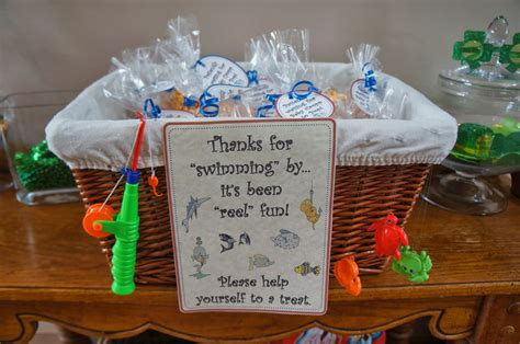 Fishing Baby Shower by Something For Your Tummy Fishing Themed Baby Shower