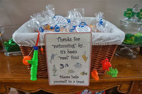 Something Yummy for your Tummy!!: Fishing Themed Baby Shower