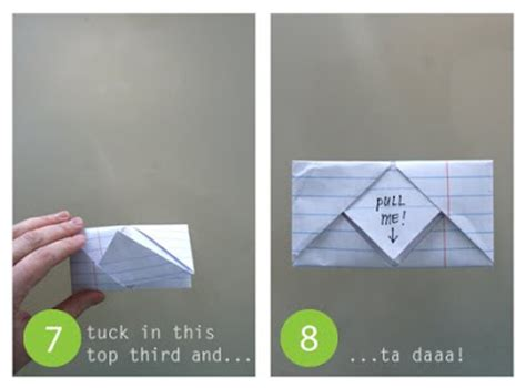 How To Fold Paper Notes In Cool Ways - hey jen renee folded notes notes junior high style