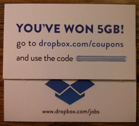 dropbox coupon upgrade your dropbox with a 5 gb coupon code fiverr