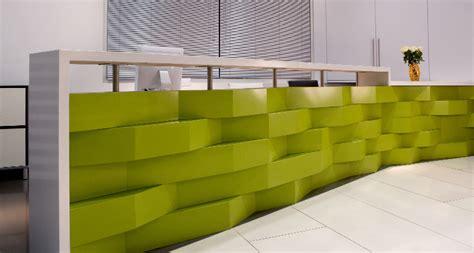 Comptoir Immobilier Rive by Espaces Commerciaux Comptoirs Granite Quartz Kitchen
