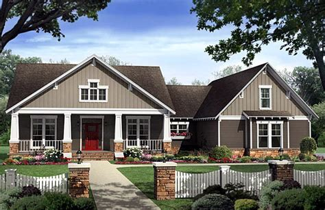 country craftsman house plans bungalow country craftsman house plan 59198