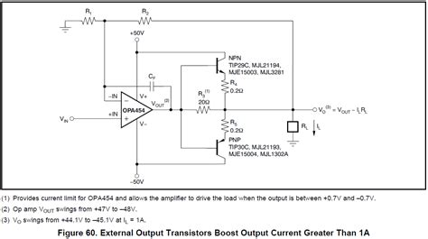 output voltage swing of op power how to increase the rated output voltage current