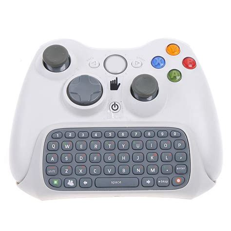aliexpress live chat white keyboard keypad chat pad live for microsoft xbox 360