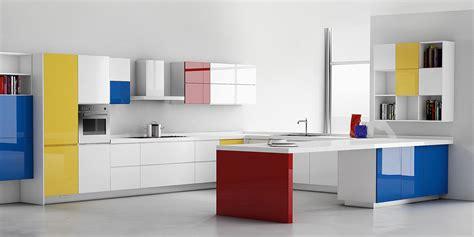 piastrelle cucina colorate casa moderna roma italy pareti cucina colorate