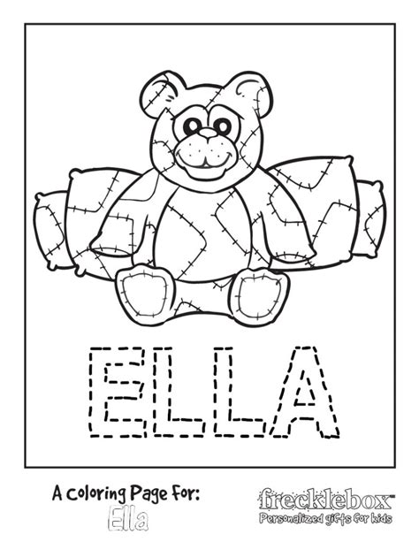 Free Coloring Pages Frecklebox Free Personalized Frecklebox Free Coloring Pages