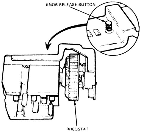 headlight switch connector replacement 92 on ford