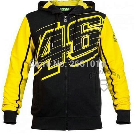 Jacket Sweater Vr 46 Gradasi free shipping new style more valentino vr46 hoodies motogp factory team motorcycle jackets