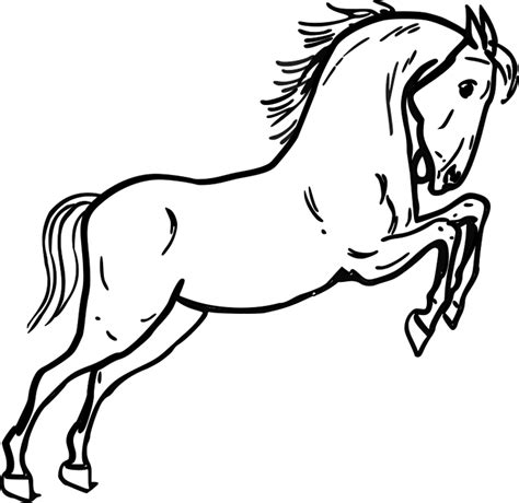 coloring pictures of horses heads coloring page clipart best