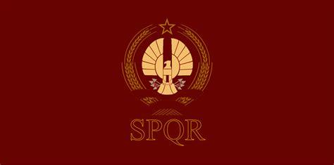 ancient roman empire flag flag of the roman republic by mariostrikermurphy on deviantart