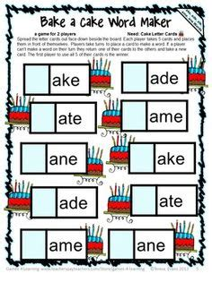 printable phonics card games 1000 images about reading games on pinterest silent e