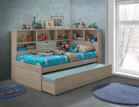 king bed with trundle ballini trundle bed king single awesome beds 4 kids