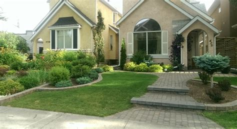 Landscape Ideas Between Houses Diy Landscape Design Themes