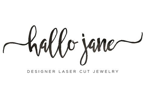 Home Design Logo hallo jane online shop