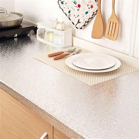 Sticker Countertops by Bestevers Kitchen Waterproof Aluminum Foil Stickers Anti