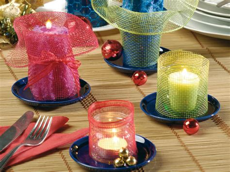 candele decorate candele decorate per la tavola bricoportale fai da te e
