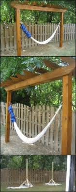 backyard hammock stand pinterest the world s catalog of ideas