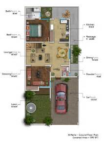 home design 10 marla 10 marla house plan with basement home plans